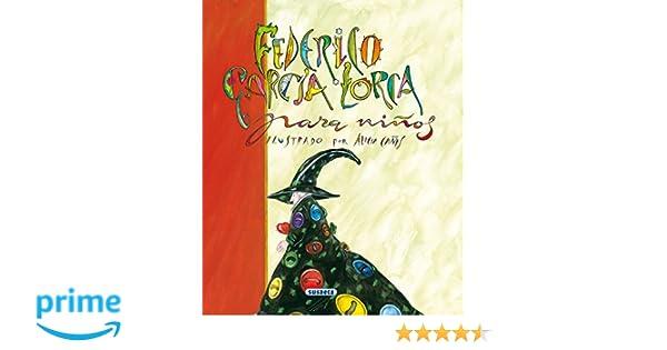 Federico Garcia Lorca Para Niños (Poesía Para Niños): Amazon ...