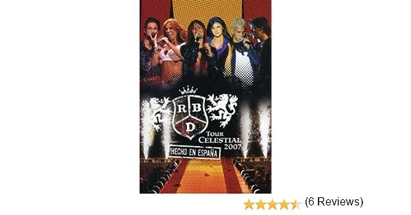 Rbd - Tour Celestial 2007 / Hecho En Espana 2 2 Dvd Italia: Amazon.es: Rbd: Cine y Series TV