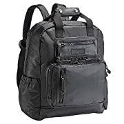 JJ Cole - Papago Pack Diaper Bag, Rugged, Refined Large Capacity Backpack for Baby Supplies with Stroller Straps, Multiple Pockets, and Changing Pad, Blackout