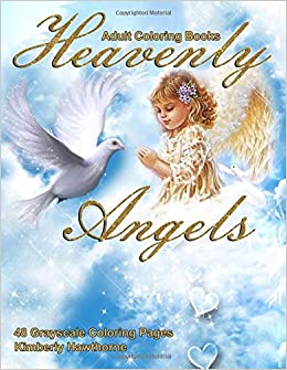 Amazon.com: Adult Coloring Books Heavenly Angels: Life Escapes Adult ...