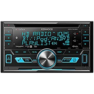 Sale Kenwood Excelon DPX793BH In Dash Double Din CD Receiver with Built in Bluetooth and HD Radio