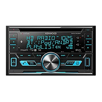 Kenwood Excelon DPX793BH In Dash Double Din CD Receiver with Built in Bluetooth and HD Radio