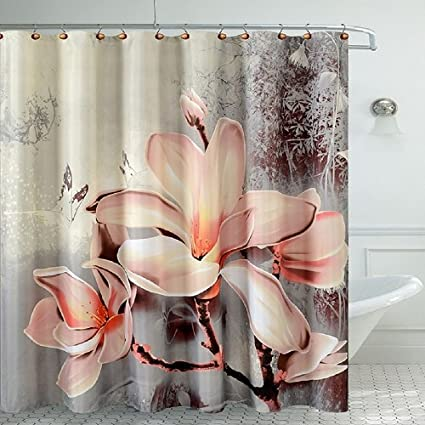Amazon Daniels Bath Fancy Room Shower Curtain Lily Home