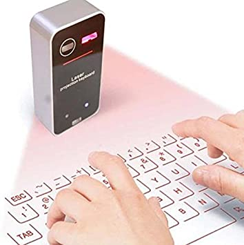Lukuki Mini Virtual Laser Keyboard Bluetooth Smartphone ...