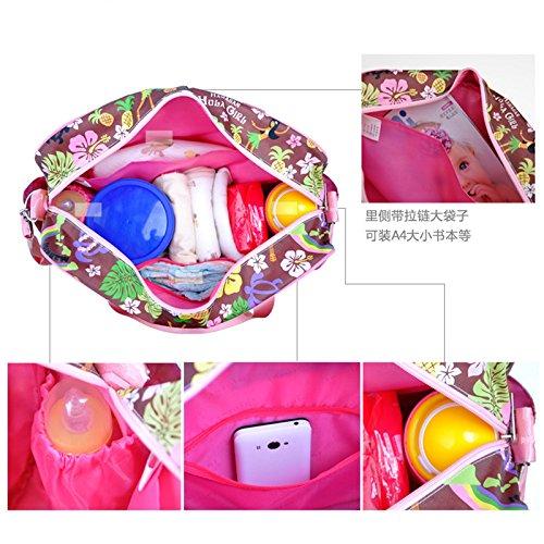 Calistous Agua Al Hombro Color02 Pañales Multifuncional Cambiador De Pañal Bolso Bolsa Mummy Color Resistente qrfg1q