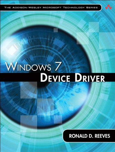 Windows 7 Device Driver (Addison-Wesley Microsoft Technology Series) Pdf