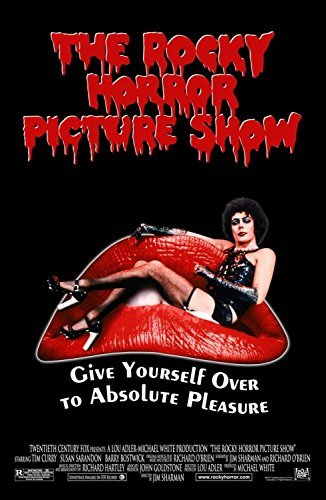 Tomorrow sunny 24X36 INCH / ART SILK POSTER / ROCKY HORROR PICTURE SHOW Movie POSTER XXX Raunchy