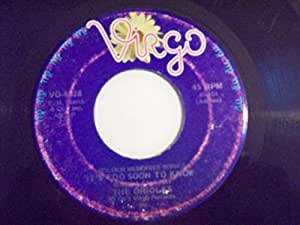 THE ORIOLES 45 RPM Tell Me So / It's Too Soon to Know