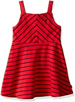 Nautica Girls' Multi-Directional Stripe Dress