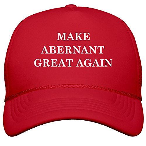 FUNNYSHIRTS.ORG Make Abernant Great Again: Film and Foil Solid Color Snapback Trucker
