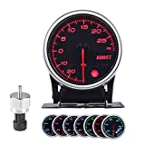 Turbo Boost/Vacuum Gauge Kit 2 Inch 7 Color 30