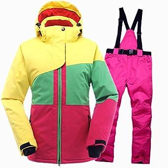 LEIT YFF Las Mujeres Traje de esquí Esquí Snowboard Chaqueta ...