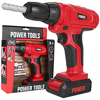 Amazon Com Toy Tool Kids Construction Toy Drill For
