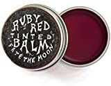 Fat and The Moon - All Natural/Organic Ruby Red Tinted Lip Balm (.5 fl oz)