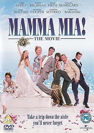 Mamma Mia The Movie Dvd