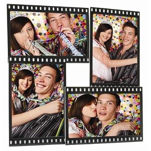 amazon com horizontal filmstrip frame wave frames holds 3 photos