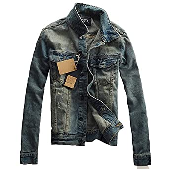 Taylor Heart New design Solid Casual Slim Mens Denim Coat New Slim Fit Cowboy Chaqueta Bomber