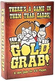 Zeke's Gold Grab!   Juego de cartas de diversión familiar galardon