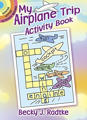 Airplane Activity Dover Little Books product image