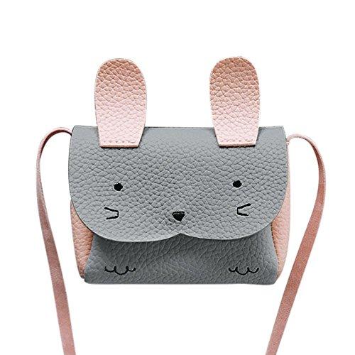 Mignon Sac épaule Bandoulière à Mini Sac Bébé Cabina Enfants Messenger Gris Bag Crossbody Filles Main La Rabbit à EwCq6BWw