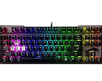 98d92617d3b MSI Mechanical Gaming Keyboard RGB LED Backlit - VIGOR GK70 CR - MX Red