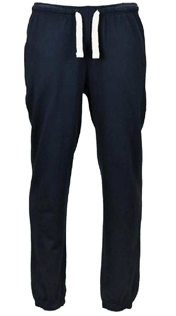 Tootless-Men Large Size Fleece Lined Classic Fit Hiphop Sport Pants