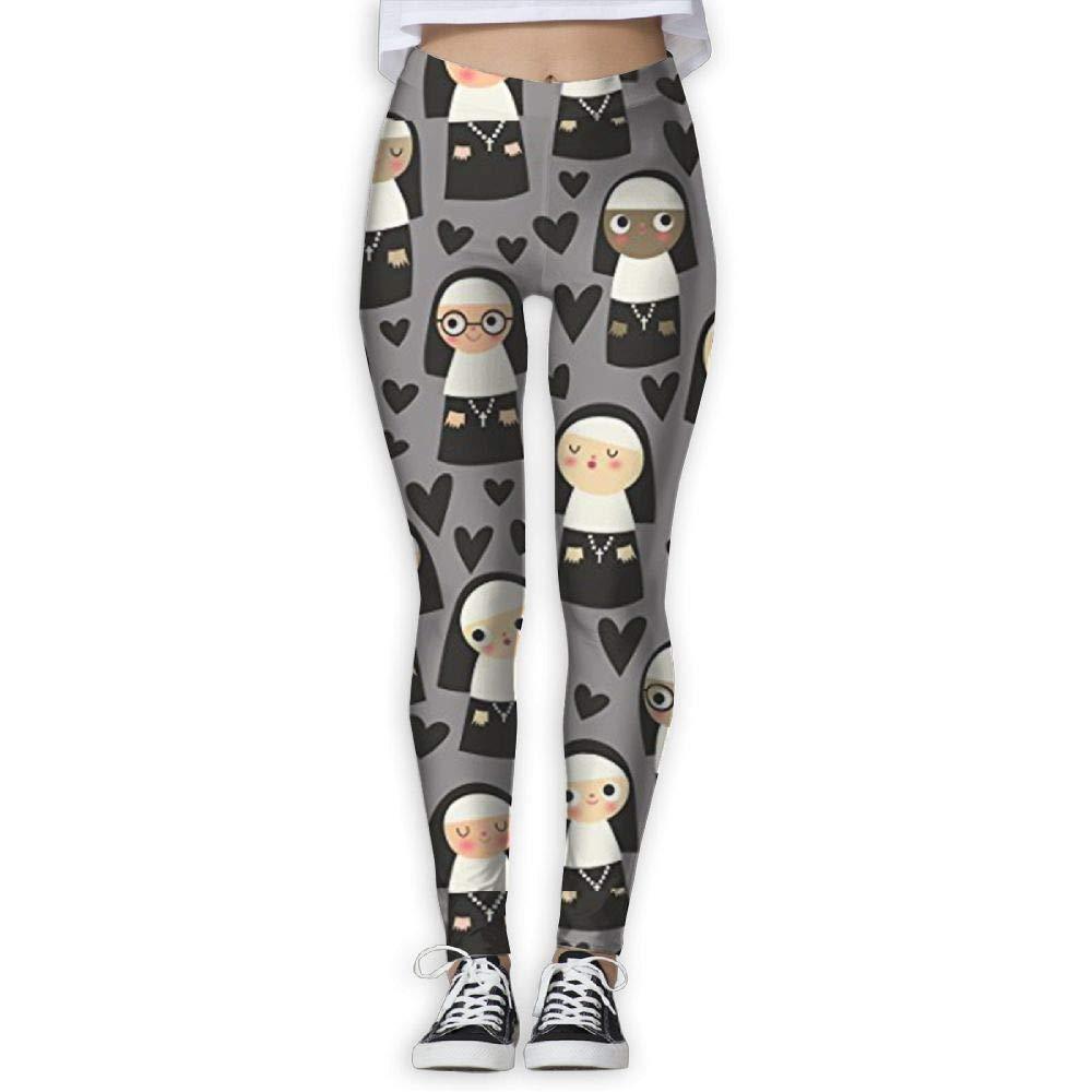 sushen Monjas en el corazón gris Pantalones de yoga de ...