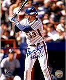 Steiner Sports MLB New York Mets Barry Lyons Signed 'Batting' 8x10 Photo