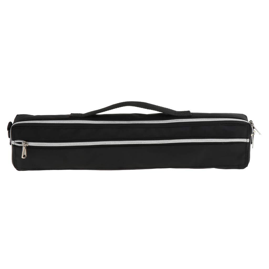 Sharplace Custodia Imbottita Legno Di Flauto Nero Con Borsa Gig Bag Flauto Morbida e Confortevole