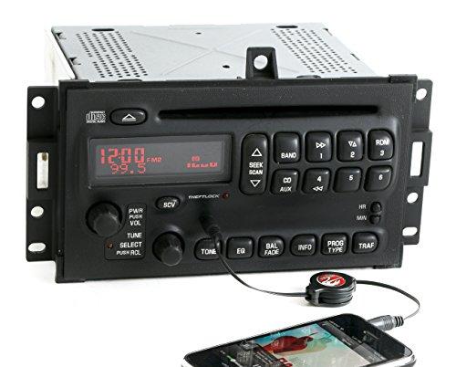 Pontiac Grand Prix 2004-2008 AM FM CD Player Radio w Aux Input U1P - PN 10352018 (Prix Player Grand Cd)