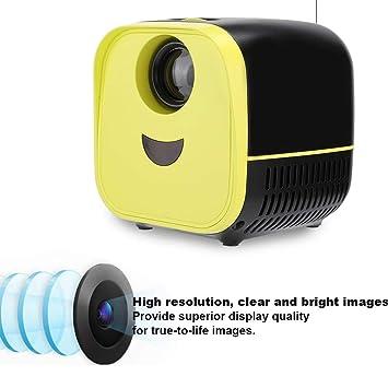 ASHATA Mini proyector, proyector portátil Ultra Mini 1080P 1000: 1 ...