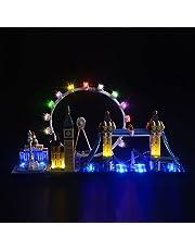 LIGHTAILING Set di Luci per (Architecture Londra) Modello da Costruire - Kit Luce LED Compatibile con Lego 21034 (Non Incluso nel Modello)