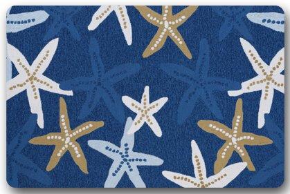 Star-Fish-On-Beach-Scenery-Door-Mats-Cover-Non-Slip-Machine-Washable-Outdoor-Indoor-Bathroom-Kitchen-Decor-Rug-Mat-Welcome-Doormat-236L-x-157W-316-Thickness