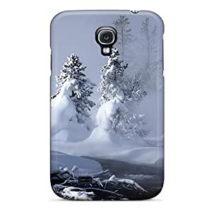 Premium Tpu Mystic Winter Cover Skin For Galaxy S4