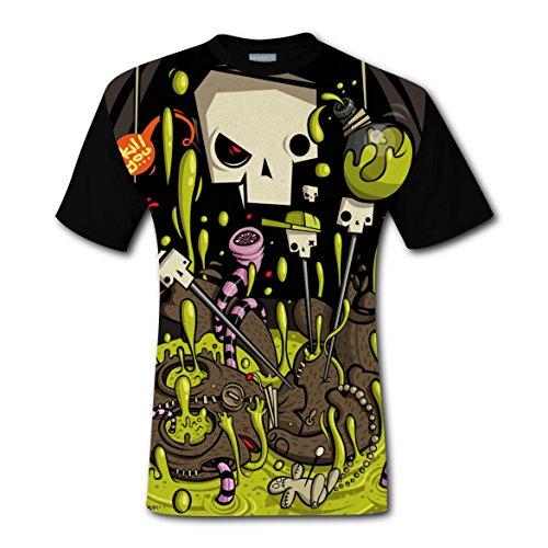 Y88 G77 I Kill You T-shirts Tops Short Sleeve Tee Shirt Sports Hot for Men XL (Show Diy Light Synchronized Christmas)