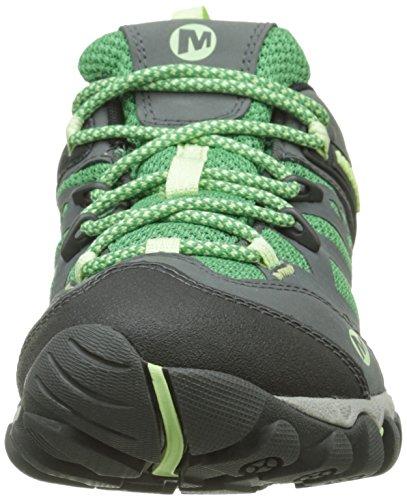 Merrell All Out Blaze Vent GTX, Damen Wanderschuhe, Grün - Grün - Vert (Bright Green) - Größe: 36