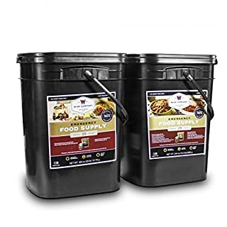 Wise Company Long Term Emergency Food Supply, Breakfast and Entree Variety, Two-120 Serving Buckets (240 Total Servings) (B006GYYJ5G) | Amazon price tracker / tracking, Amazon price history charts, Amazon price watches, Amazon price drop alerts
