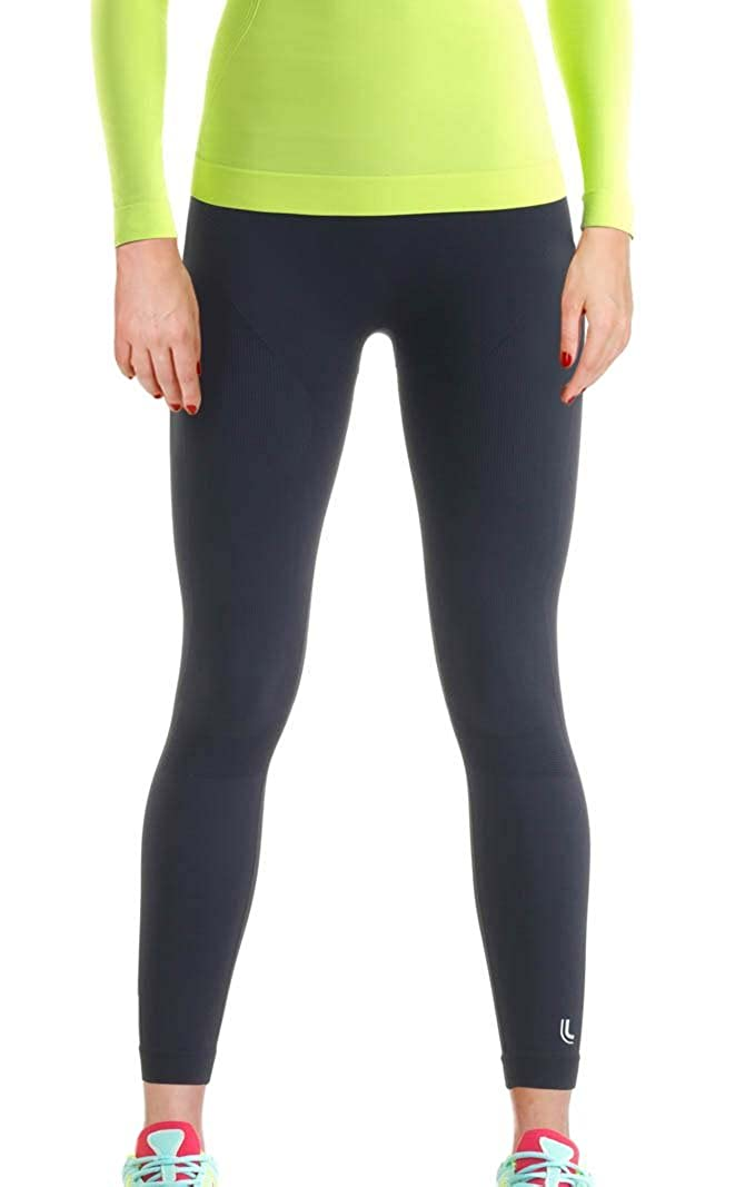 Lupo Womens X-Run High Compression Running Pants with Emana