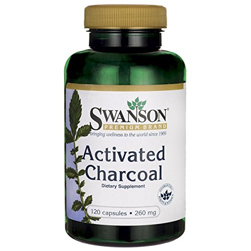 Swanson Activated Charcoal 260 Caps
