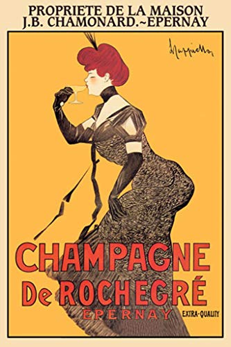 Buyenlarge Champagne de Rochegre Epernay by Leonetto Cappiello Wall Decal, 24