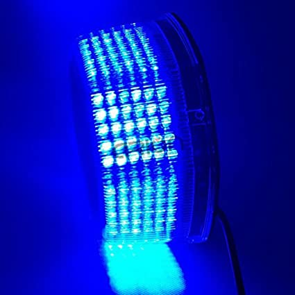 Anzene NEUF lumineux 240/LED Camion v/éhicule Toit de voiture Flash stroboscopique durgence avertissement Hazard Feu davertissement