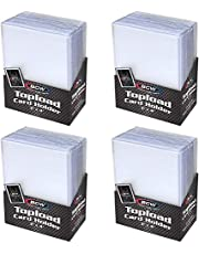 """BCW (100-4 Packs of 25) BCW Brand Trading Card Toploaders - 3"""" x 4"""""""