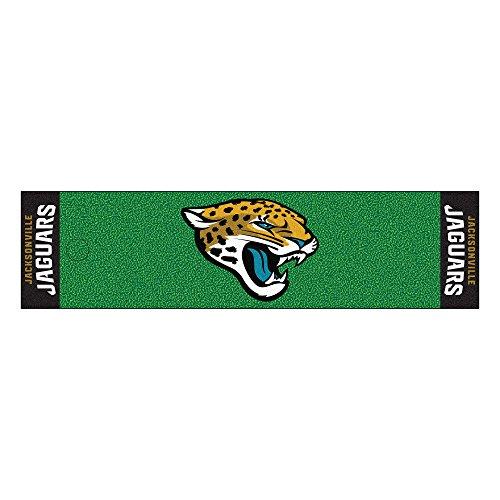 Fanmats Jacksonville Jaguars Football (Fanmats NFL Jacksonville Jaguars Nylon Face Putting Green Mat)