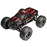 GPTOYS S911 2.4G 4CH RC Truck Car Toy Remote Control Off Road Racer Supersonic Explorer Monster High Speed Montain Truck with 2 - Wheel Driven Electric Racing Truggy,Red