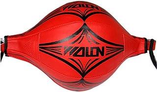 Wankd Balle d'exercice de Boxe, Ballon d'entraînement de Vitesse à Double extrémité, Sac de Frappe de Boxe MMA avec Anneau de Verrouillage, Vitesse d'entraînement MMA pour Adulte, Sport, Fitness