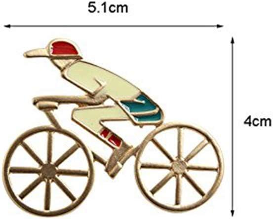 Ogquaton Material de aleación Modelo de Bicicleta Broche para ...