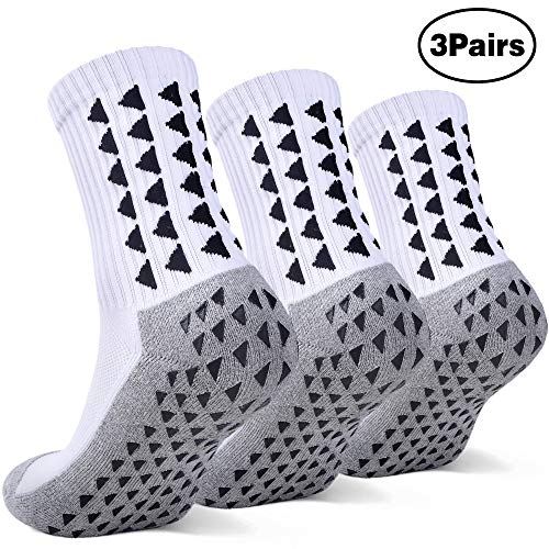 Anti Slip Non Slip,Non Skid Slipper Hospital,Sport,Athletic Socks with grips - Slip Mens Athletic
