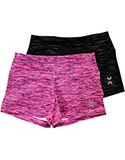United All Around Gymnastic & Dance Shorts for Girls, Little Girl & Youth and Toddler
