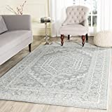Safavieh Adirondack Collection ADR108T Slate and Ivory Oriental Vintage Area Rug (3' x 5')