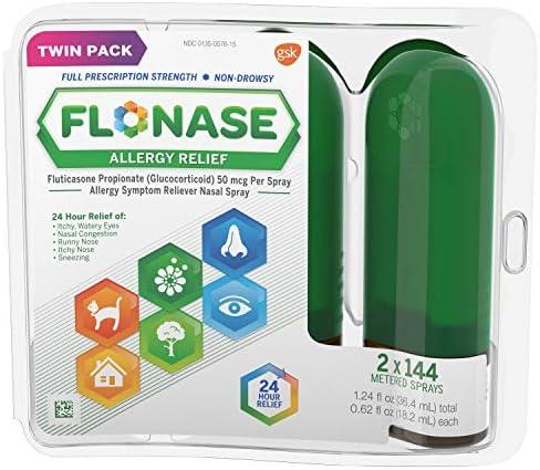 Flonase Allergy Prescription Strength Twinpack product image